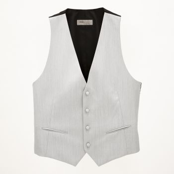 Light Grey Wool Vest