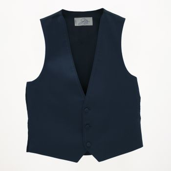 Dark Blue Wool Vest
