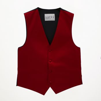 Apple Red Vest