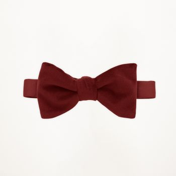 Apple Red Velvet Bow Tie