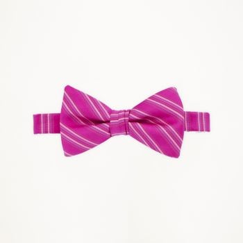 Azalea Striped Bow Tie