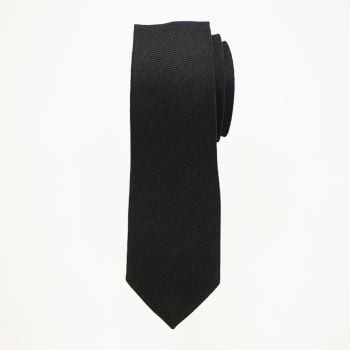 Black Matte Long Tie