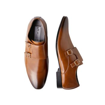 Brown Monkstrap Shoe