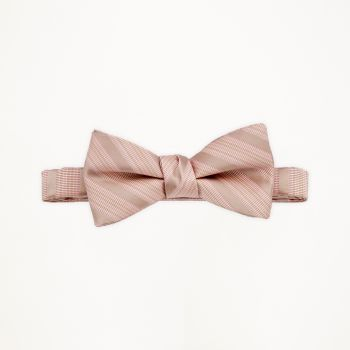 Cameo Striped Bow Tie