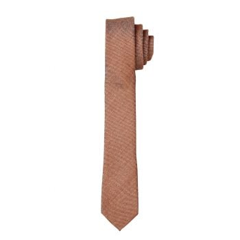 Caramel Matte Self Long Tie
