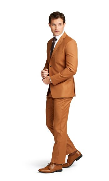 Caramel Notch Lapel Suit