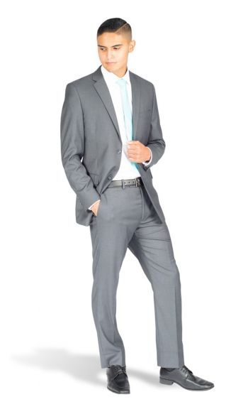 Charcoal Grey Modern Fit Suit