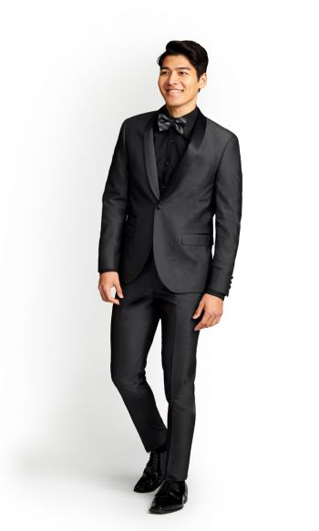 Charcoal Grey Slim Fit Tuxedo