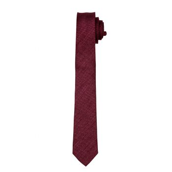 Chianti Matte Self Long Tie