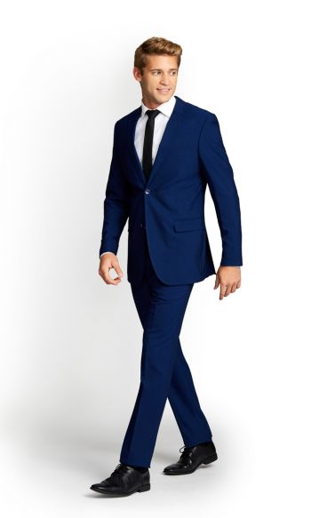 Cobalt Blue Slim Fit Suit