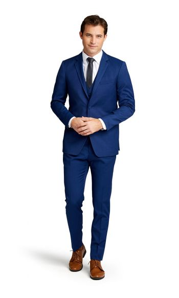 Cobalt Notch Lapel Suit