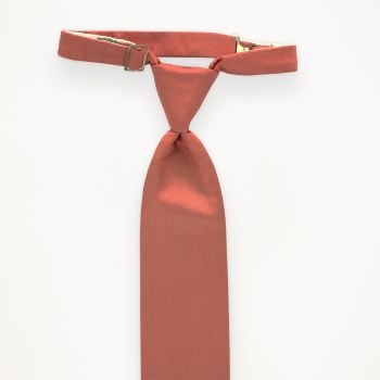 Coral Reef Solid Long Tie