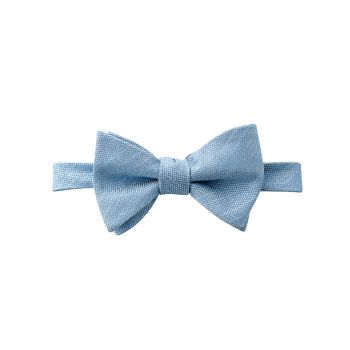 Dusty Blue Matte Bow Tie
