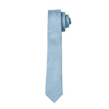 Dusty Blue Matte Tie