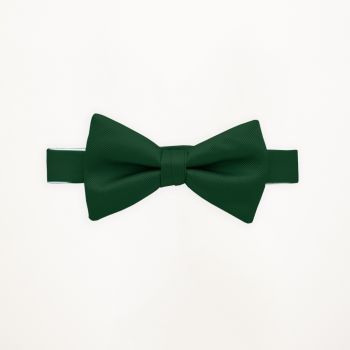 Evergreen Solid Bow Tie
