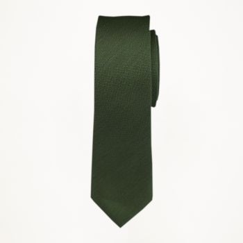 Evergreen Matte Long Tie