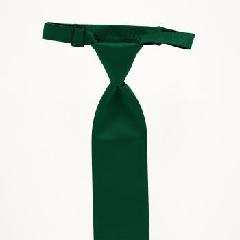 Evergreen Solid Long Tie