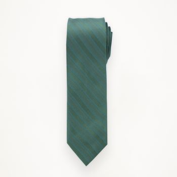 Evergreen Striped Long Tie