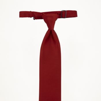 Ferrari Red Long Tie