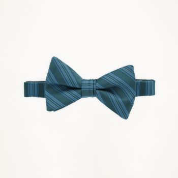 Gem Striped Bow Tie