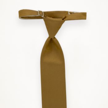Gold Solid Long Tie