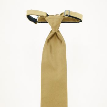 Gold Long Tie