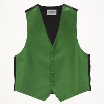 Kelly Green Pindot Vest