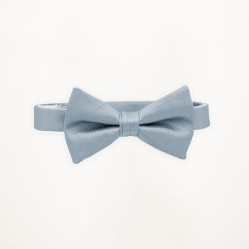 Light Blue Solid Bow Tie