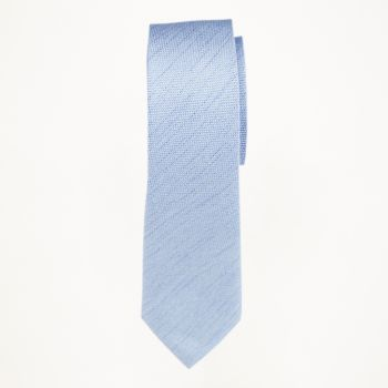 Light Blue Matte Long Tie