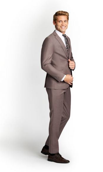Light Brown Slim Fit Suit