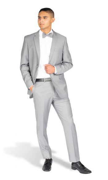 Light Grey Modern Fit Suit