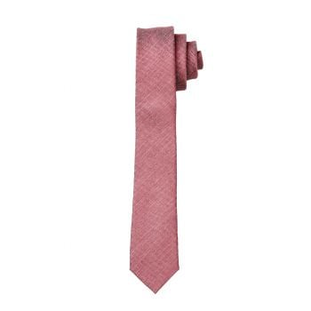 Mauve Matte Self Long Tie