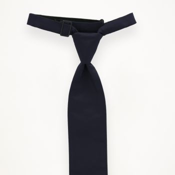 Midnight Solid Long Tie