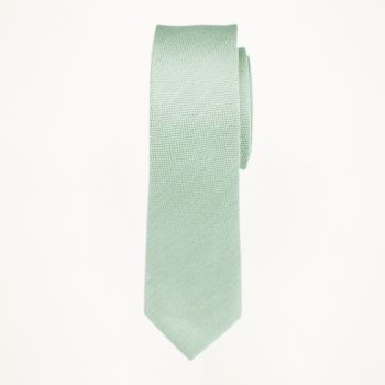 Mint Matte Long Tie