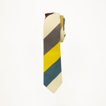 Multi Colored Wide Stripe Tie