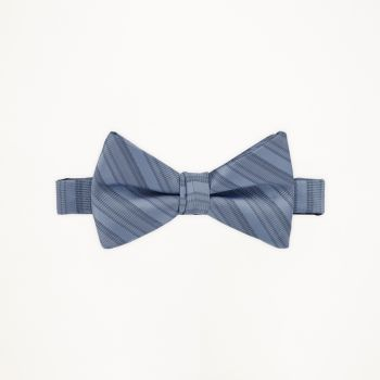 Once Upon A Time Blue Striped Bow Tie