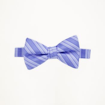 Peri Striped Bow Tie