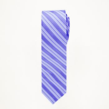Peri Striped Long Tie