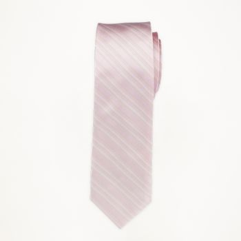 Petal Striped Long Tie