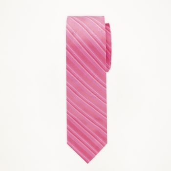 Petunia Striped Long Tie