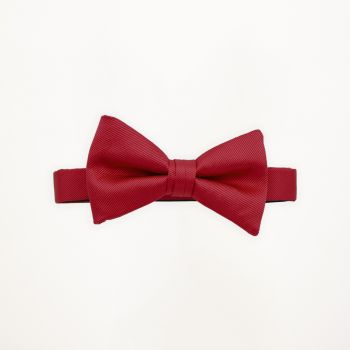 Pomegranate Solid Bow Tie