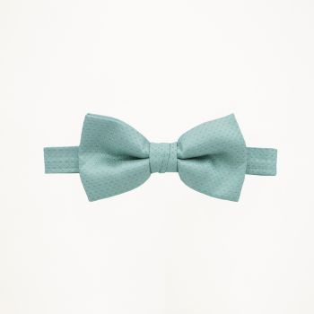 Pool Blue Pindot Bow Tie