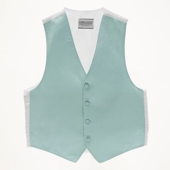 Pool Blue Pindot Vest