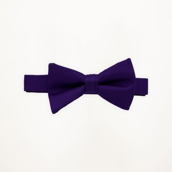 Purple Storm Solid Bow Tie