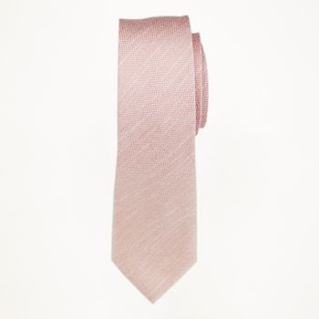 Rose Gold Matte Long Tie