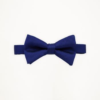 Royal Blue Solid Bow Tie