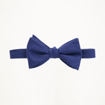 Royal Blue Matte Bow Tie