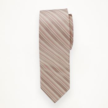 Rum Pink Striped Long Tie