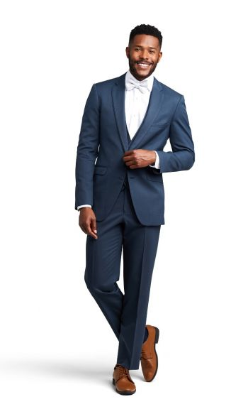 Slate Notch Lapel Suit