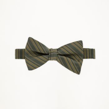 Tarragon Striped Bow Tie